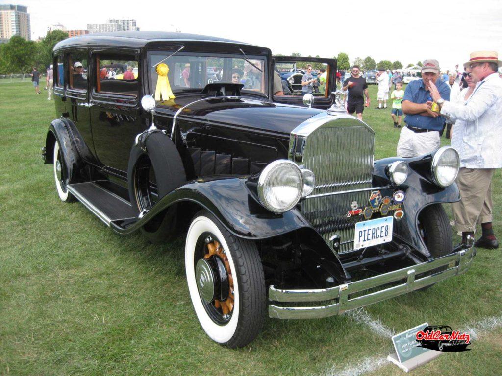 1931 Pierce Arrow Model 43 7 Passenger Sedan