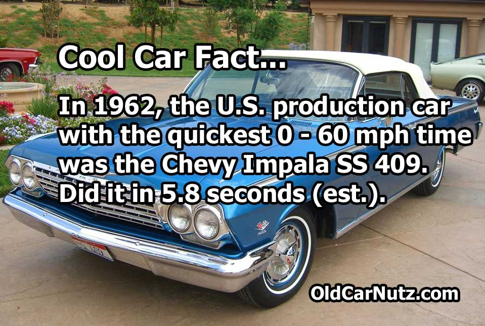 Cool Car Facts