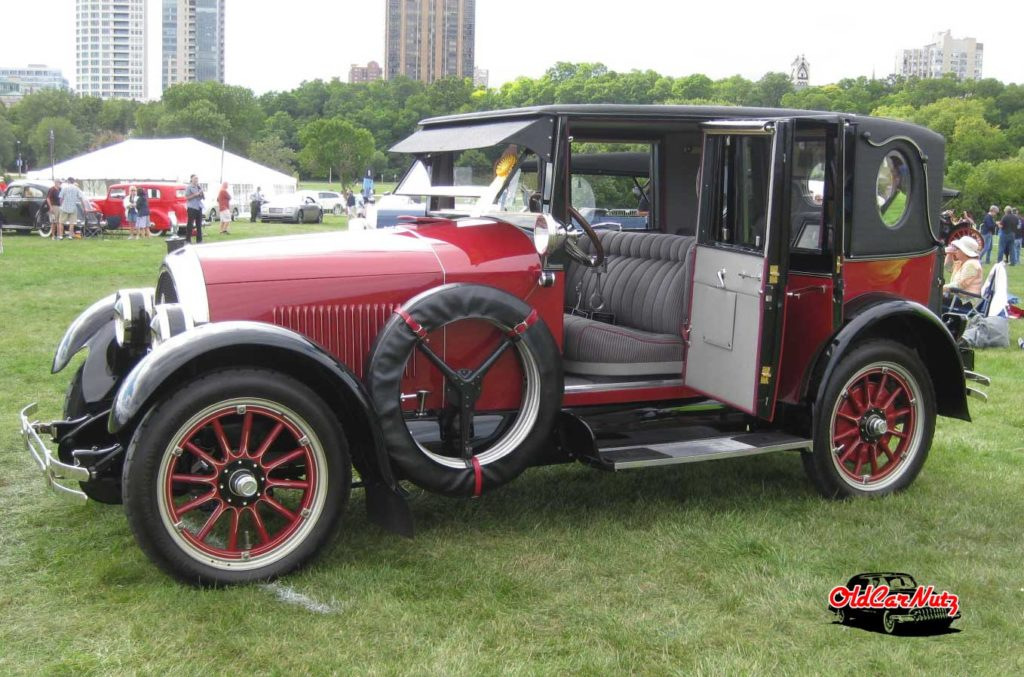 1923 Kissel Model 6-55 Brougham Opera Sedan