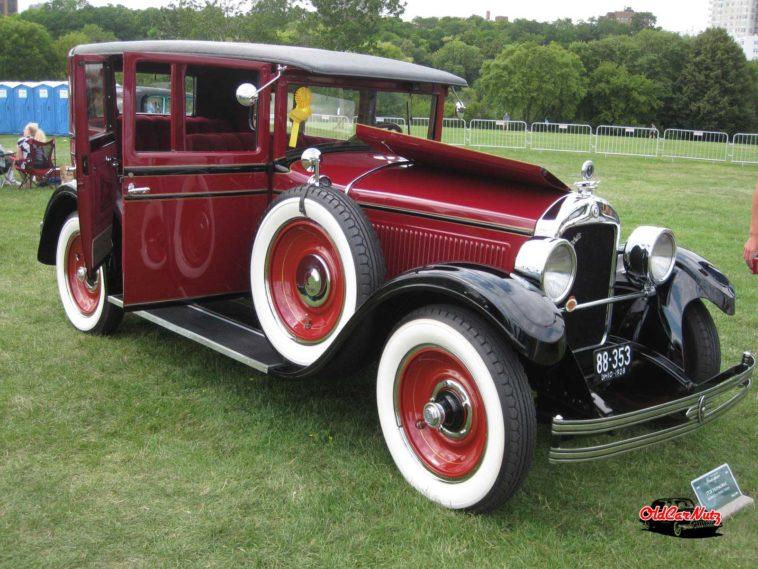 1928 Hupmobile Model E-4 Series Sedan