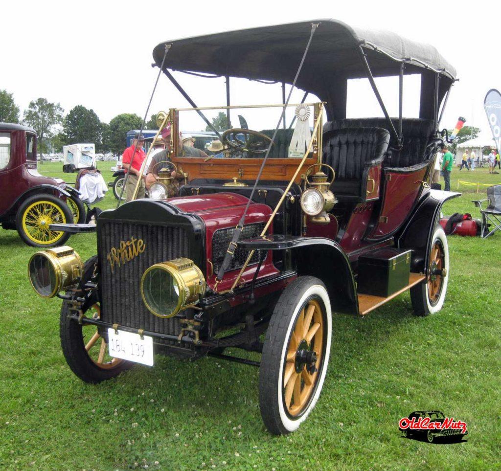 1908 White Model L Steam Car