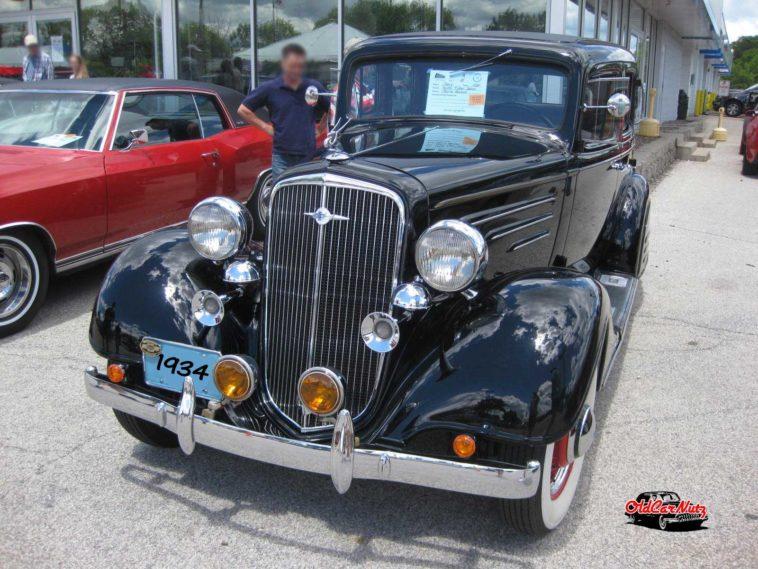 1934 Chevrolet Master 4 Door Sedan
