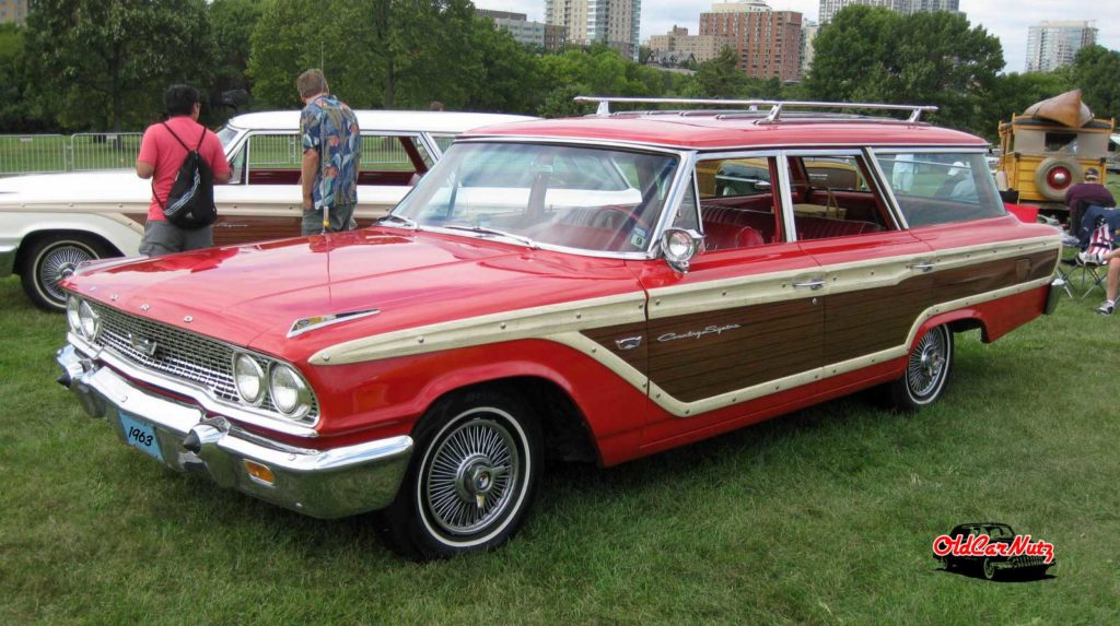 1963 Ford Country Squire Station Wagon | OldCarNutz.com