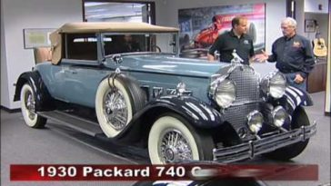 1930 Packard 740 Convertible Coupe