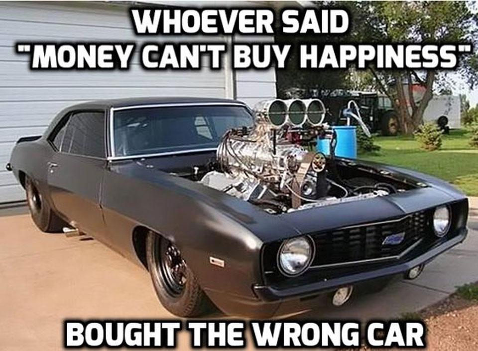 classic muscle car memes